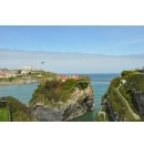 Cornwall - Newquay 3 mei 2013 gezicht op de zee
