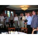 Op de high tea bij onze dirigent 23 aug. 2009